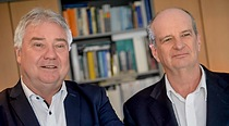 Oliver Winzenried (left) and Marcellus Buchheit, Wibu-Systems co-founders, still leading the company together after 30Oliver Winzenried and Marcellus Buchheit, Wibu-Systems co-founders, still leading the company together after 30 years.