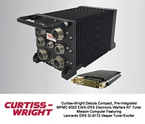 NEW MPMC-9323 EWS-DRS MISSION COMPUTER SPEEDS DEVELOPMENT/DEPLOYMENT OF HIGH PERFORMANCE EW/RF APPLICATIONS WITH COTS-BASED OPEN ARCHITECTURE SOLUTION
