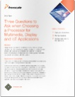 white paper three questions to ask when choosing a processor for multimedia display and iot applications