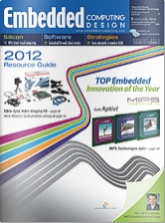 Embedded Computing Design Magazine - August 2012