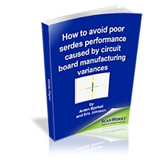 A new e-book from ASSET® InterTech (www.asset-intertech.com) explains how manufacturing process variances can cause defects that degrade the performance of high-speed serdes links on printed circuit boards. The e-book describes how these defects can be detected with minimum effects on the manufacturing line.