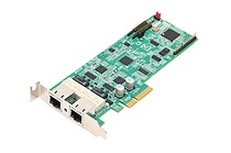 Portwell's BPC-51120: A dual-port network adapter featuring Intel's I210 (formerly Springville) Ethernet controller. It is fully compliant with 1000base-T and provides Audio Video Bridging (AVB) support with power management technologies; Energy-Efficient-Ethernet (EEE) and direct memory access (DMA); IEEE 1588 precision time protocol circuitry synchronization. BPC-51120 offers Generation 2.1 (2.5GT/s) PCIe x4 or PCIe x1 through its PCI x4 golden finger and presents a compact—168.15mm x 68.9mm—low profile, half-length footprint.