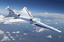NASA\\\'s X-59 Quiet SuperSonic Technology (QueSST) aircraft