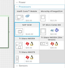 Now available in Geppetto D2O for custom design,  NXP® Semiconductor SCM-i.MX 6Quad/6Dual Single Chip System Module (SCM)