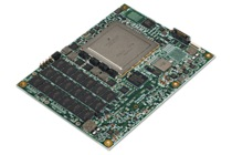 XPedite5850 NXP QorIQ T4240 processor-based COM Express mezzanine module