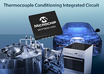 Thermocouples are widely used to measure temperature by the designers of industrial, consumer, automotive/aerospace and petrochemical applications, among others. Microchip\'s MCP9600 provides them with the world's first plug-and-play solution for creating thermocouple-based designs, because it eliminates the design expertise required for a discrete implementation, such as firmware development using an MCU's math engine.