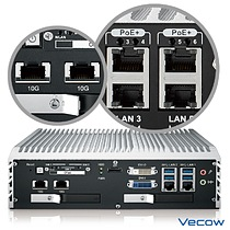 Vecow ECS-9055 Series 10 GigE LAN Embedded System