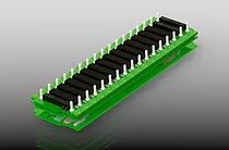14 slot PCIe Gen3 backplane, 16 lanes per slot