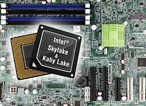 Skylake mainboards and CPU cards with Intel® 7th generation processors
