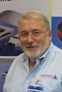 Barry Lock, UK Manager Lauterbach