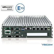Vecow E Mark Certified Embedded Box PC with PoE+ & PCI/PCIe Expansion