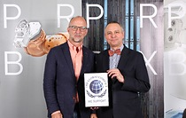 Powerbox supports the United Global Compact 10 Principles From left to right: Martin Sjöstrand – CEO Powerbox ; Patrick Le Fèvre CMCO Powerbox