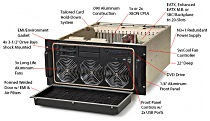 The Chassis Plan\'s Rugged HPC Computer Systems are designed around a long-life system board using the new Intel Xeon Scalable CPUs.  It also provides 4 3.5 drive bays, a slim slot fed optical drive, 2 USB 2.0 ports, up to 1TB of RAM, and can run Windows 10, Windows 7 Pro as well as other 32 and 64 bit operating systems.