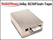 Launch of SCSIFlash-Tape provides solid state replacement for obsolete and end-of-life tape drives