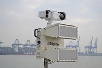 Blighter B400 series e-scan radar with Liteye Aquila camera system