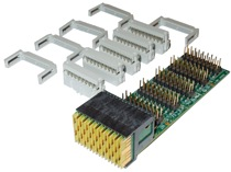 Technobox 8600 VPX Breakout Paddle Card