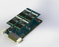 3U VPX 8x Lane 8 TB Flash Storage blade