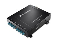 The DesignCore™ RVP-TDA2x Reference Design is an 8-channel SerDes Rugged Vision Platform with Texas Instruments TDA2x vision processor and 3GHz FPD-Link III SerDes interface