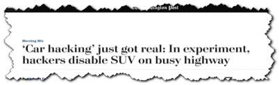 Car hacking just got real (via Washington Post)