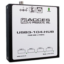 Rugged, Industrial Grade 4-Port SuperSpeed USB 3.1 Hub