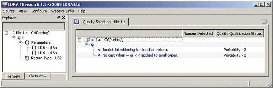 Static analysis aids code portability
