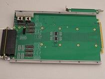 PCIe to 3U VPX riser card