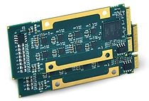 AcroPack® PCIe Bus Interface boards drive up to 16 devices with continuous waveforms output from onboard memory without host intervention.