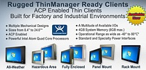 Rugged Industrial Grade Thin Clients from VarTech Systems Inc.