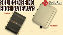 SolidSense N6 Edge Gateways (indoor and outdoor models)