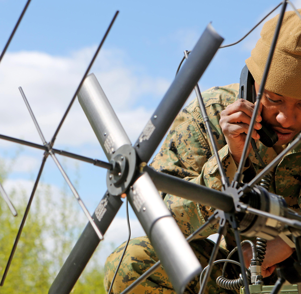 Software-defined radio enables enhanced military communications