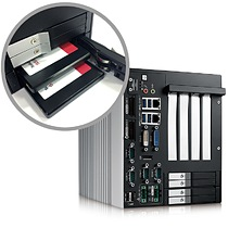 RCS-9000 : Front-access SSD/HDD Tray