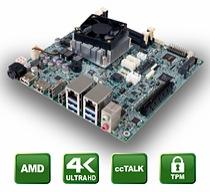gKINO-DMF – Mini-ITX CPU board with AMD SoC