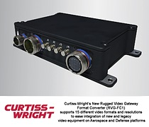 Curtiss-Wright\'s New Format Converter Eases Integration of New and Legacy Video Equipment on Aerospace and Defense Platforms