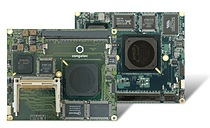 congatec sets new score with long-term support until 2021 for AMD Geode processor based ETX and XTX computer modules (from left)