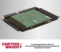 New, dual threaded 64-bit Altivec(tm)-enabled VPX6-197 SBC features a quad-core T2080 processor, delivers 1.8 GHz non-throttling processing performance with only 42 watts of power dissipation