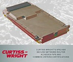 Curtiss-Wright\'s VPX3-685 Secure Network Router Achieves FIPS and Common Criteria Certifications