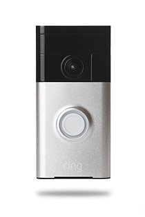 Ring Wi-Fi-enabled, battery-operated, HD video doorbell