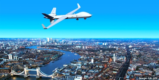 Remotely piloted aircraft system from GA-ASI to get trial