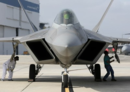 U.S. Air Force receives F-22 Raptor after maintenance at Lockheed's Speedline facility