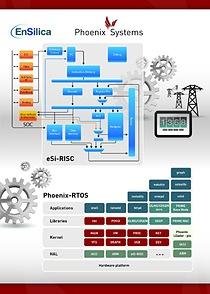 Phoenix Systems ports Phoenix-RTOS to EnSilica's eSi-RISC processor family