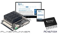 FlashRunner supports Microchip PIC16LF1554