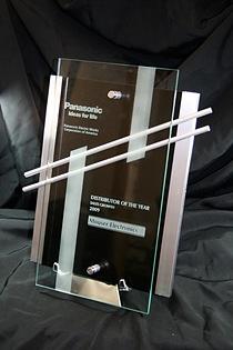 Mouser Wins Panasonic 2009 Distributor of the Year - Sales Growth Award