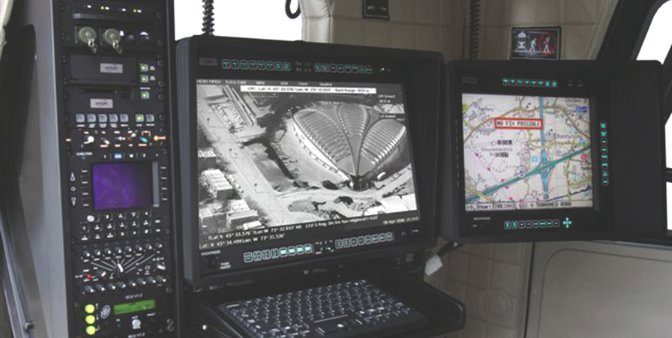 Rugged Mission Displays For Surveillance Applications