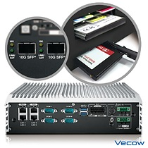 Vecow ECS-9071 Series 10 GigE SFP+ Fiber LAN Embedded System