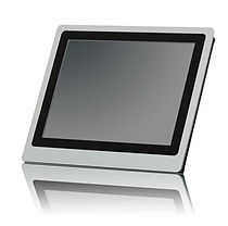 Portwell's PEDA-S1530: A high-performance and fan-less panel PC with five-wire resistive touch screen and PCI Express expansion interface