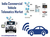 Commercial Vehicle Telematics Market in India - Industrial Embedded