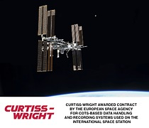 Curtiss-Wright awarded contract by European Space Agency for COTS-based data handling and recording systems used on the International Space Station