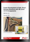 white paper faster development of safe smart railway solutions with sil level cots components