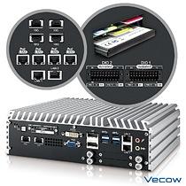 Vecow ECS-9755 4-port 10 GigE Embedded System