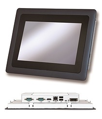Portwell's COMBO Panel PC Series: An industrial-grade fan-less compact panel PC with multi-touch projected capacitive (PCAP) touch screen and wide temperature support